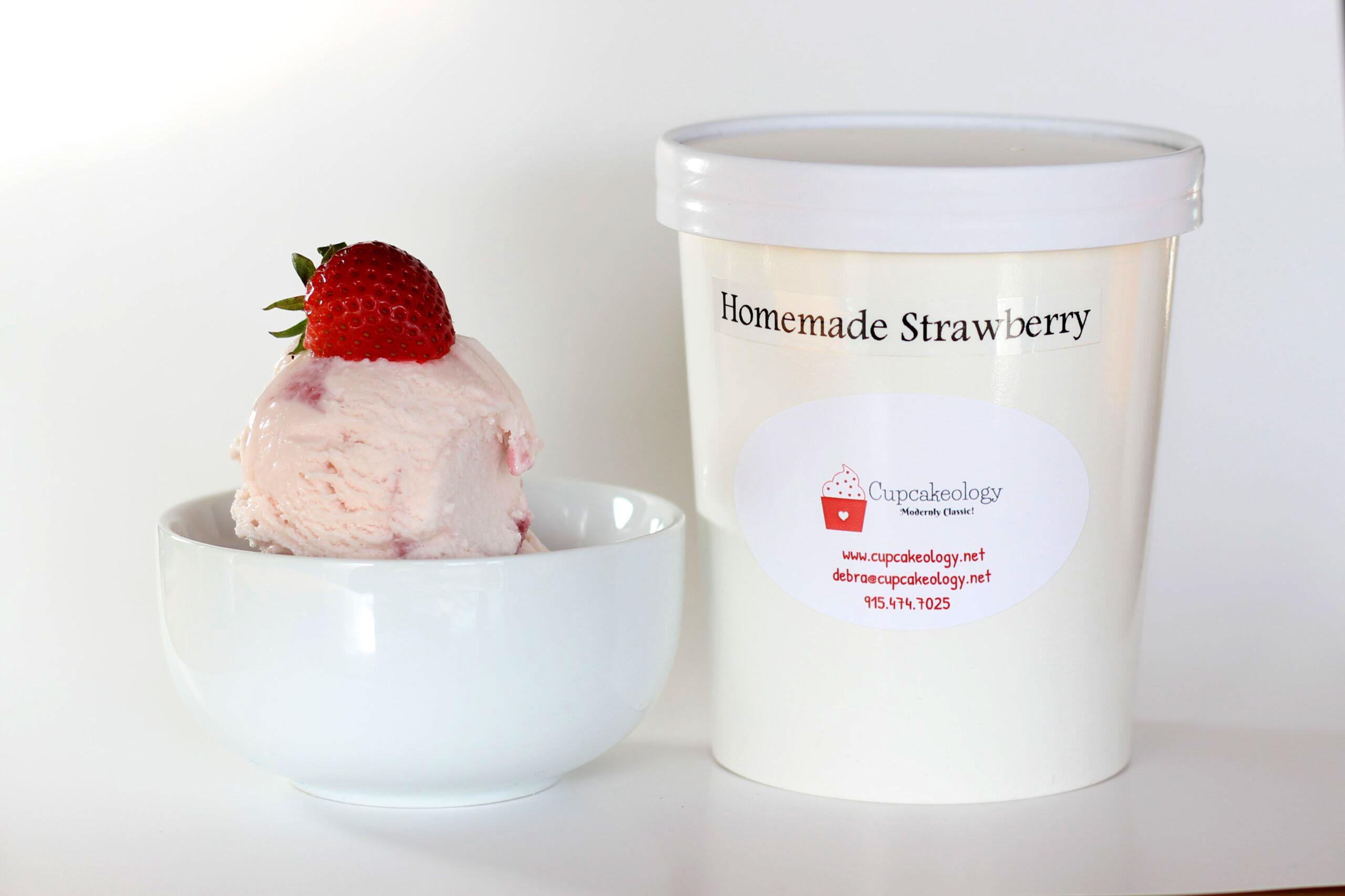Homemade Ice Cream West Texas