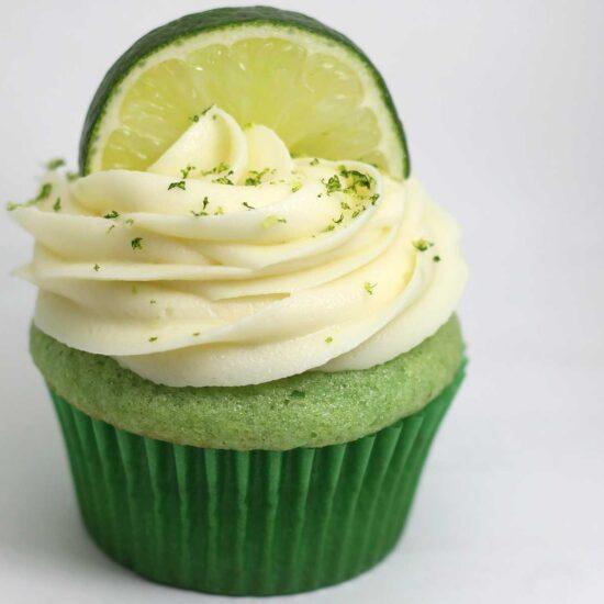 Vegan Lime Cupcake